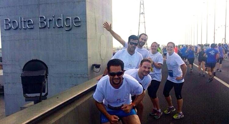 Bolte Bridge, Run for the Kids 2014