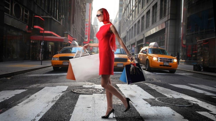 woman-in-a-red-dress-shopping-in-nyc-226040